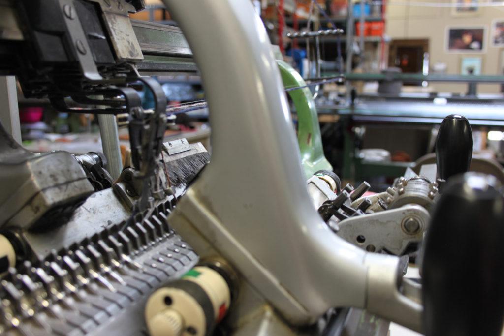 Vintage Scandinavian Industrial knitting machine